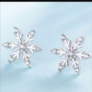 Jewelry - Snowflake earrings!
